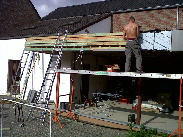 Ets libert toitures sprl namur wallonie belgique for Bardage zinc joint debout